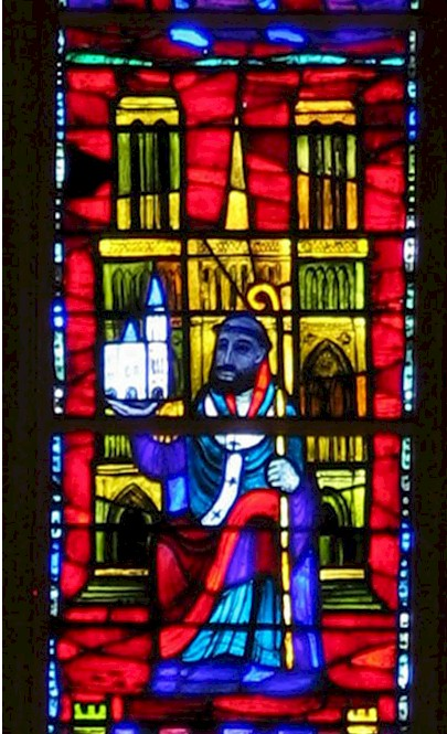 In 1122 Suger Was Elected Abbott Of St Denis Paris Having Served As A Trusted Councilor Under His Predecessor Adam He Able To Organize