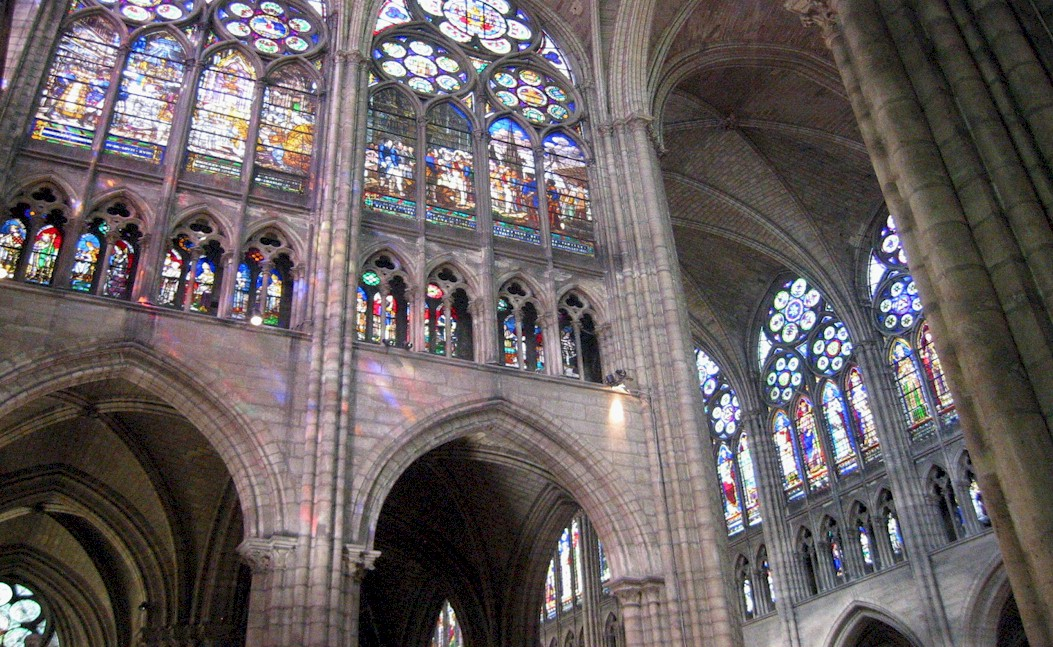 Also Cathedrals And Other Churches Can Be Looked At Artistically Because There Was So Much Wall Space Without Windows In The Romanesque